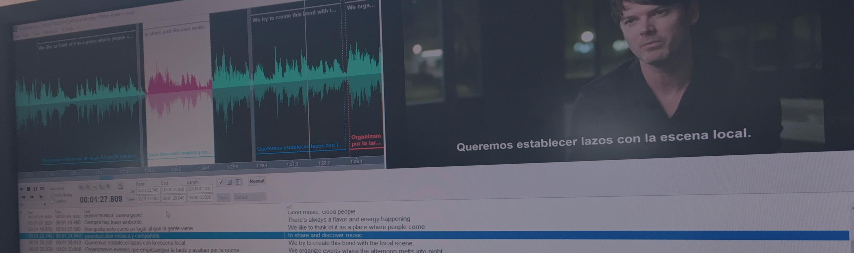 Aegisub, VSS y Subtitle Edit: subtitulación profesional gratuita